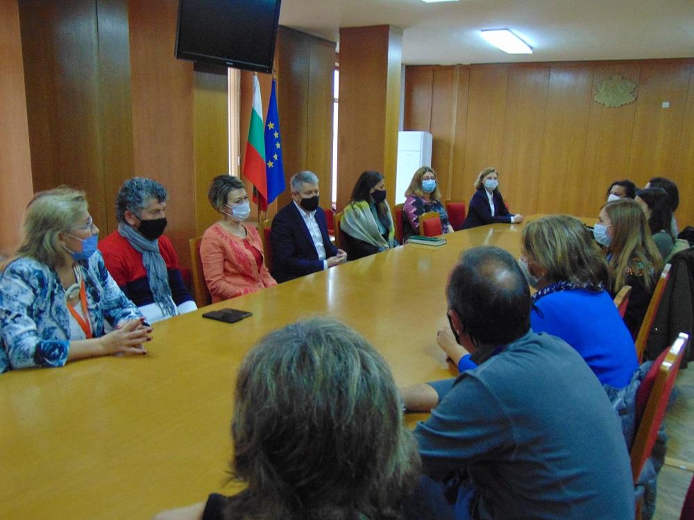 Учители и музейни специалисти от четири европейски държави гостуват в Шумен