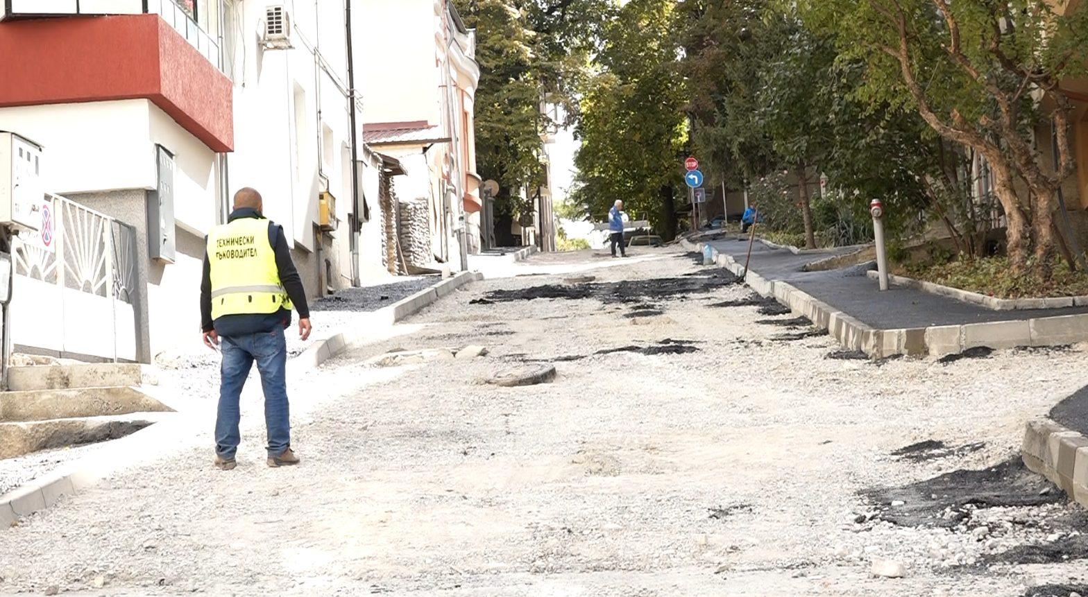 Инвестирани 1 млн. лева за улични ремонти